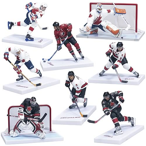 NHL Legends Team Canada Action Figure Case