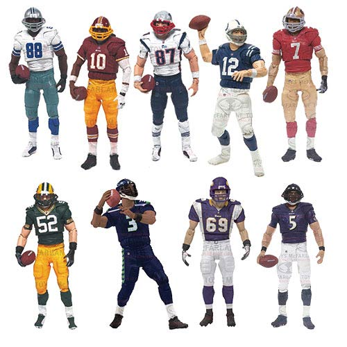 NFL PlayMakers Series 4 Action Figure Case