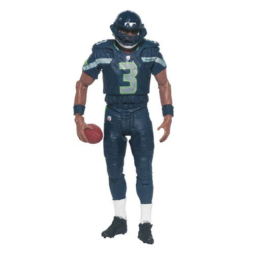NFL Playmakers Series 4 Russell Wilson Action Figure