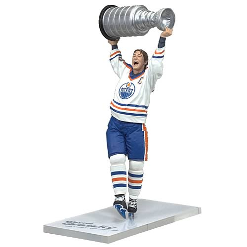 NHL Legends Series 4 Wayne Gretzky 8 Action Figure