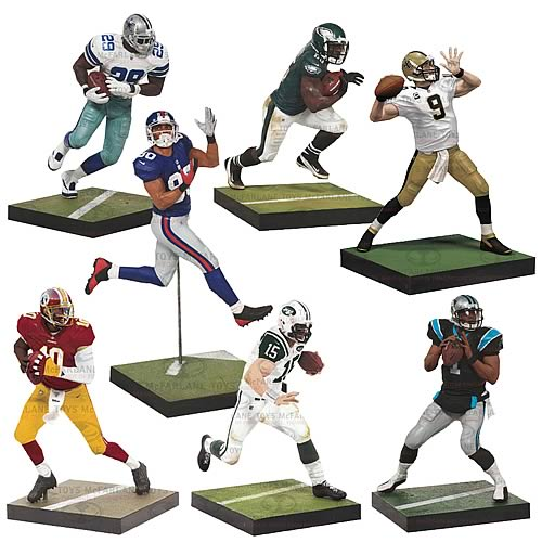 NFL Series 31 Revision 1 Action Figures Case