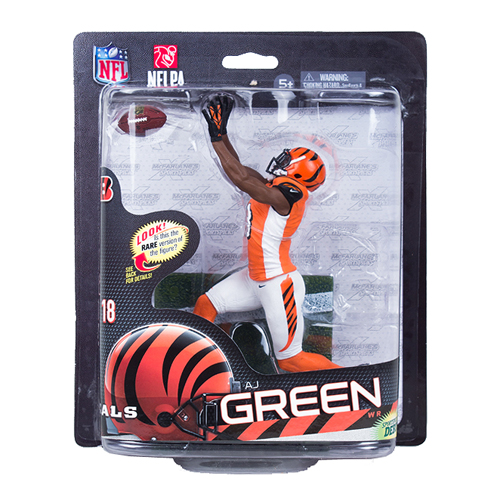NFL Series 33 AJ Green Silver Collector Level Action Figure
