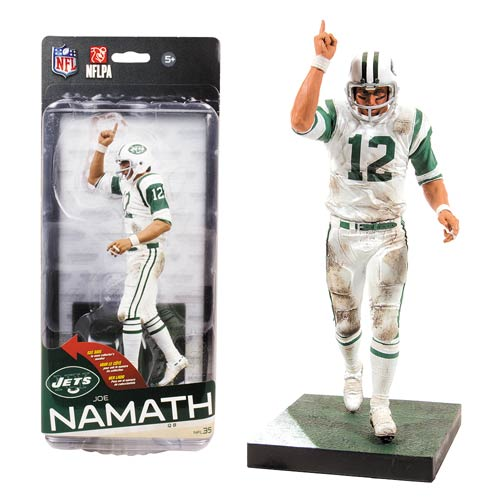 NFL Series 35 Joe Namath Action Figure