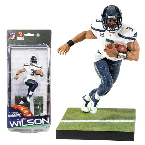 NFL Series 35 Russell Wilson Action Figure
