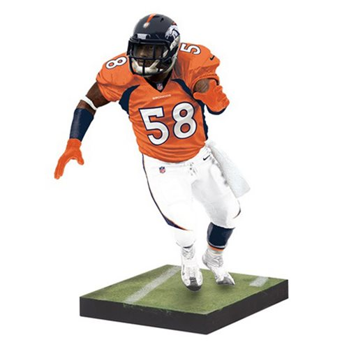 NFL Madden 17 UT Series 2 Von Miller Action Figure  McFarlane Toys  Sports: Football  Action