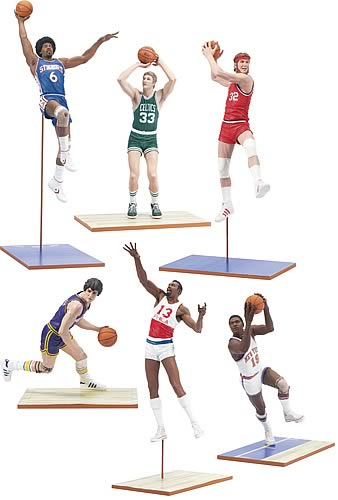 NBA Legends Series 1 Action Figure Case