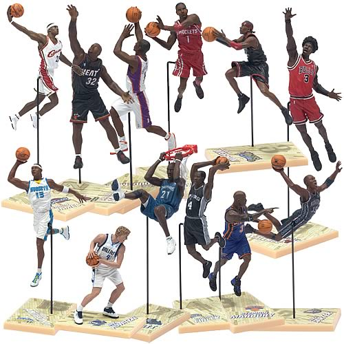 NBA 2006 3-inch Series 1 Figures