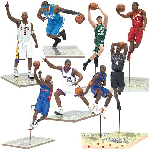 NBA Series 11 Action Figure Case