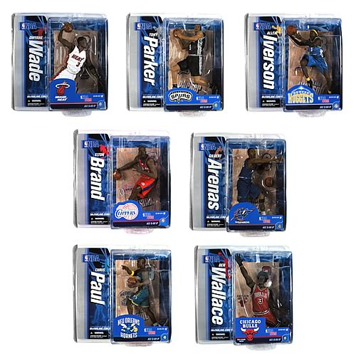 NBA Series 12 Action Figure Case