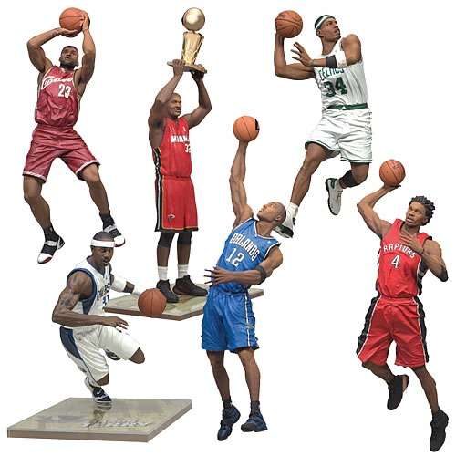 NBA Series 13 Action Figure Case