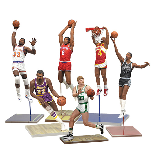 NBA Legends Series 4 Action Figure Case