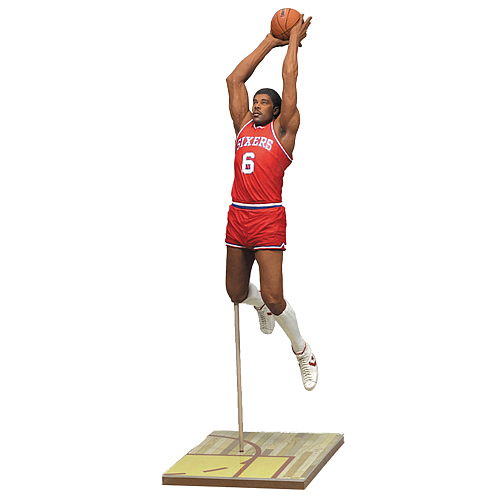NBA Legends Series 4 Julius Erving Action Figure