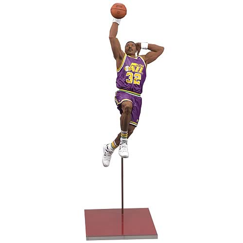 NBA Legends Series 5 Karl Malone 2 Action Figure