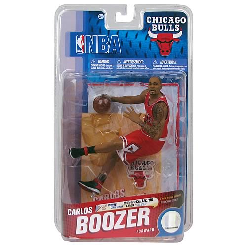 NBA Series 19 Carlos Boozer Action Figure