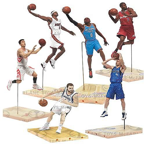 NBA Series 21 Action Figure Case