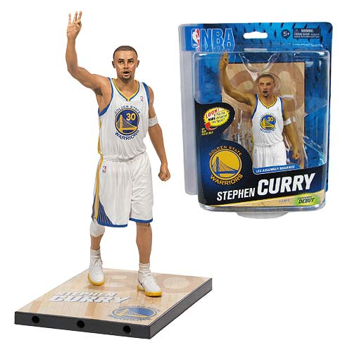 NBA Series 24 Stephen Curry Sports Picks Action Figure ...
