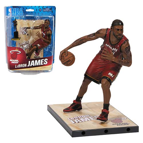 NBA Series 24 LeBron James Sports Picks Action Figure
