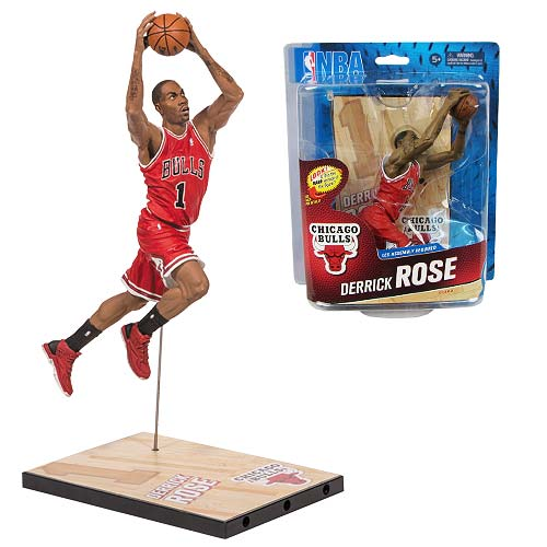 NBA Series 24 Derrick Rose Sports Picks Action Figure