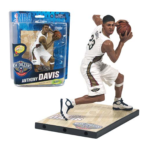 NBA Series 24 Anthony Davis Sports Picks Action Figure