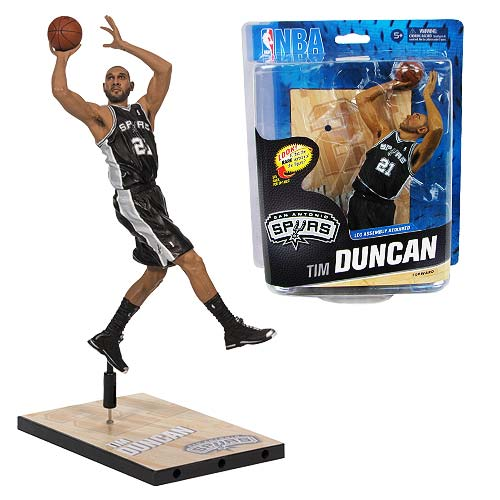 NBA Series 24 Tim Duncan Sports Picks Action Figure