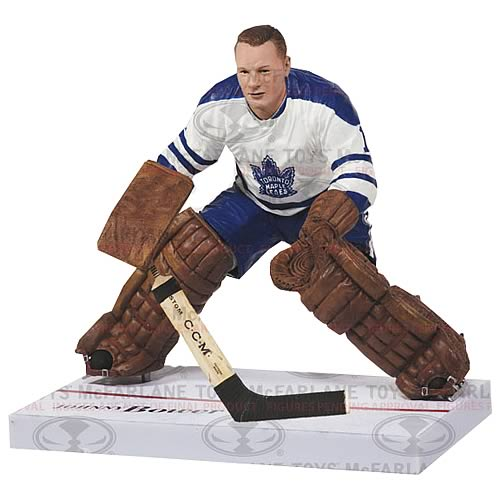 NHL Series 32 Johnny Bower Action Figure Case