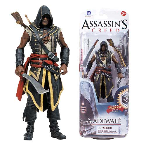 Assassin's Creed Series 2 Assassin Adewale Action Figure