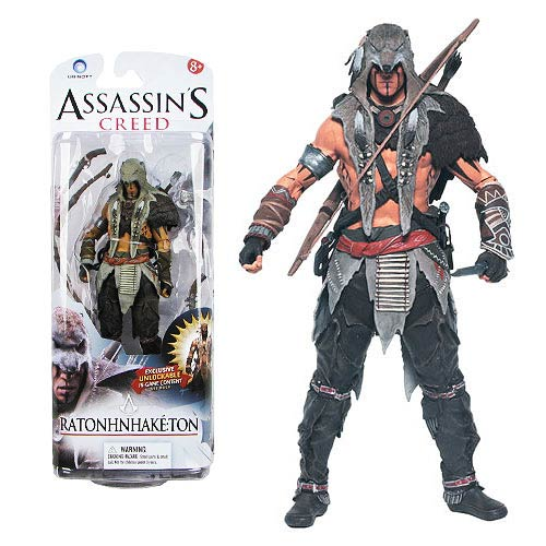 Assassin's Creed Series 1 Ratonhnhake:ton Action Figure