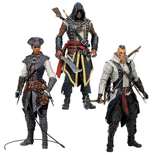 Assassin's Creed Series 2 Action Figure Set