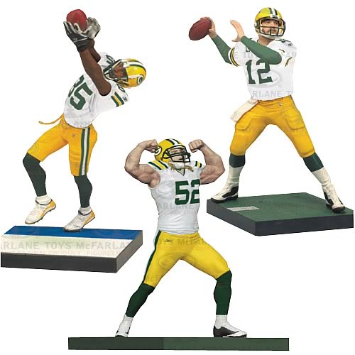 NFL Green Bay Packers Championship Figure 3-Pack