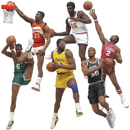 NBA Legends Action Figures Series 3
