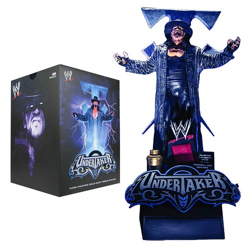 WWE Undertaker 14-Inch Resin Limited Edition Statue
