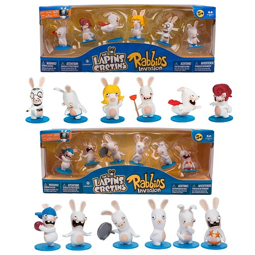 Rabbids Invasion Mini-Figure Invasion Packs Set