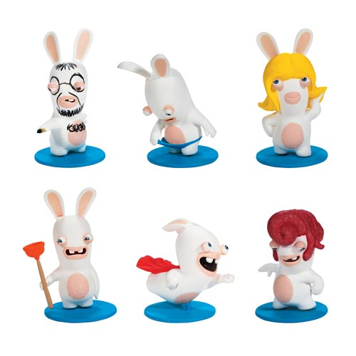 Rabbids Invasion Rabbids Mini-Figures Series 2 Random 6-Pack