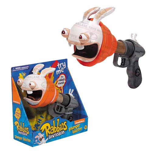 Rabbids Invasion Super Plunger Sound Blaster Replica