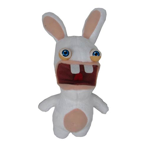 Rabbids Invasion Raving Rabbid Series 1 Talking Plush