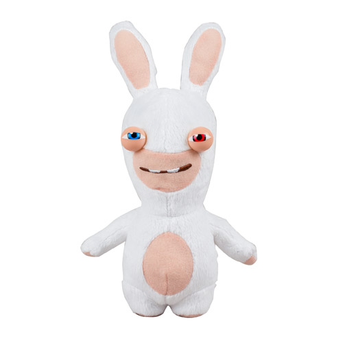 Rabbids Invasion Sly Rabbid Red & Blue Eye Talking Plush