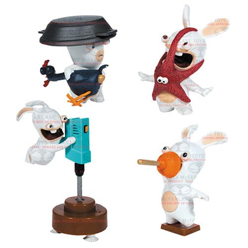 Rabbids Invasion Talking Action Figures Series 2 Set