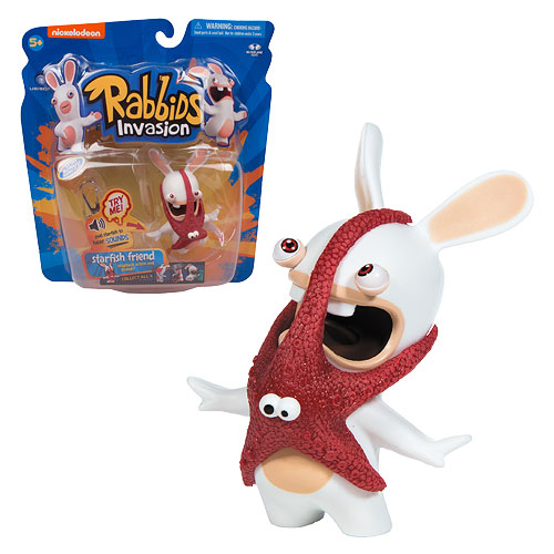 Rabbids Invasion Starfish Friend Talking Action Figure