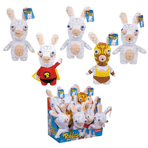 Rabbids Invasion Rabbids Plush Series 2 Display Tray Case
