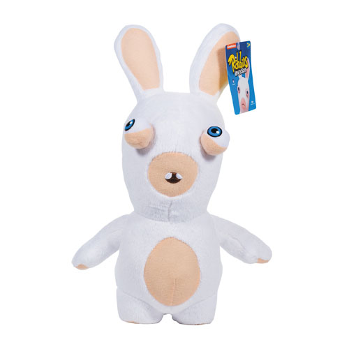 Rabbids Invasion White Rabbid with Teeth Series 2 Plush