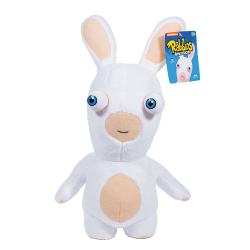 Rabbids Invasion Smiling White Rabbid Series 2 Plush