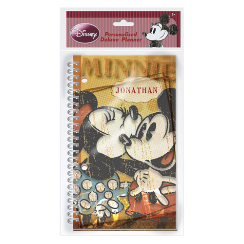 Minnie Mouse and Mickey Mouse Retro Planner