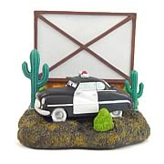 Pixar Cars Sheriff Bookend