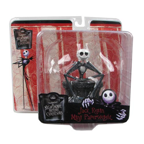 Nightmare Before Christmas Jack Skellington Paperweight