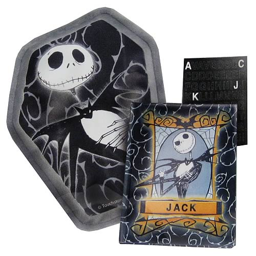 NBX Jack Skellington Journal & Pillow Gift Set