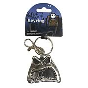 Key Chains > Nightmare Before Christmas - Celebrate Christmas and Halloween...any time of year! Stunning pewter key chain featuring Jack Skellington from  The Nightmare Before Christmas . Take Jack with you anywhere! Nightmare Before Christmas Jack Skellington Screaming Pewter Key Chain. This stunning pewter key chain features Jack Skellington himself, with a screaming expression on his face. Give your keys some nightmarish style - order yours today! Measures about 2-inches tall x 2-inches wide x 1/4-inch deep.: Sizes