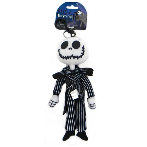 Nightmare Before Christmas Jack Skellington Plush Key Chain