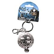Key Chains > Nightmare Before Christmas - Celebrate Christmas and Halloween...any time of year! Stunning pewter key chain featuring Jack Skellington from  The Nightmare Before Christmas . Take Jack with you anywhere! Nightmare Before Christmas Jack Skellington with Pumpkin Pewter Key Chain. This stunning pewter key chain features the one and only Jack Skellington, holding a grinning pumpkin! Give your keys some nightmarish style - order yours today!: Sizes
