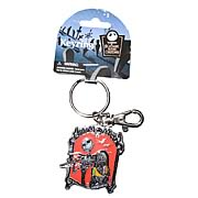 Key Chains > Nightmare Before Christmas - Celebrate Christmas and Halloween...any time of year! Stunning pewter key chain featuring Jack Skellington and Sally from  The Nightmare Before Christmas . Take the gang with you anywhere! Nightmare Before Christmas Jack Skellington and Sally Color Pewter Key Chain. This stunning color pewter key chain features the one and only Jack Skellington, with his sweetheart Sally! Give your keys some nightmarish style - order yours today!: Sizes