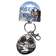 Key Chains > Nightmare Before Christmas - Celebrate Christmas and Halloween...any time of year! Stunning pewter key chain featuring Jack Skellington from  The Nightmare Before Christmas . Take Jack with you anywhere! Nightmare Before Christmas Jack Skellington Scared Face Pewter Key Chain. This stunning pewter key chain features the one and only Jack Skellington, with a slightly concerned expression on his face! Give your keys some nightmarish style - order yours today! Measures about 2 1/2-inches tall x 2-inches wide x 1/4-inch deep.: Sizes